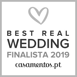 Finalista Best Real Wedding 2019Casamentos.pt