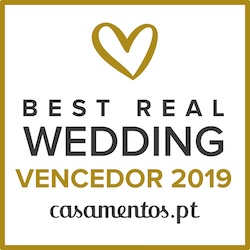 Vencedor Best Real Wedding 2019 Casamentos.pt